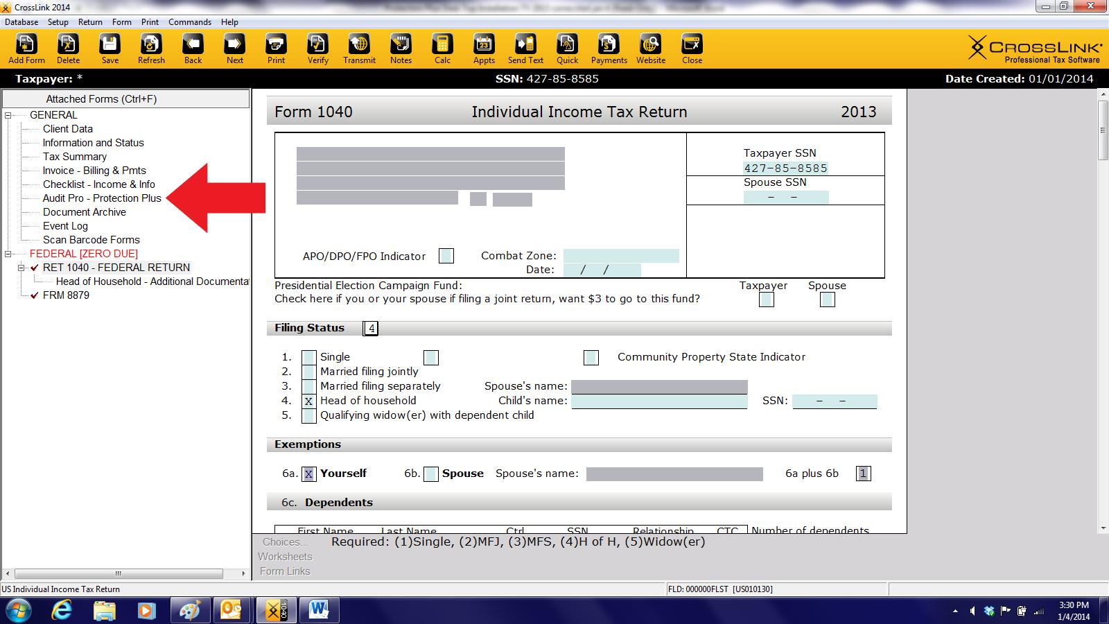 Crosslink Desktop Setup